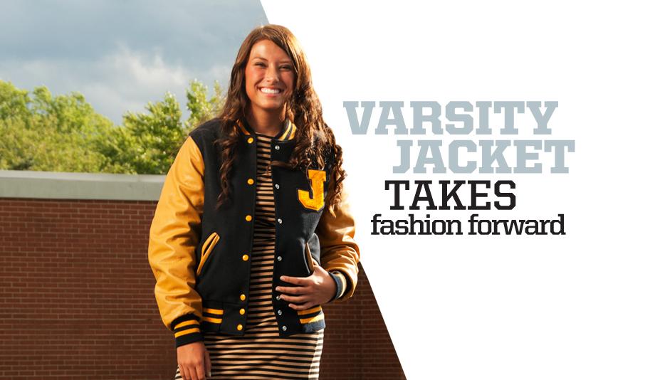 Varsity Jacket Takes Fashion Forward | Holloway Sportswear
