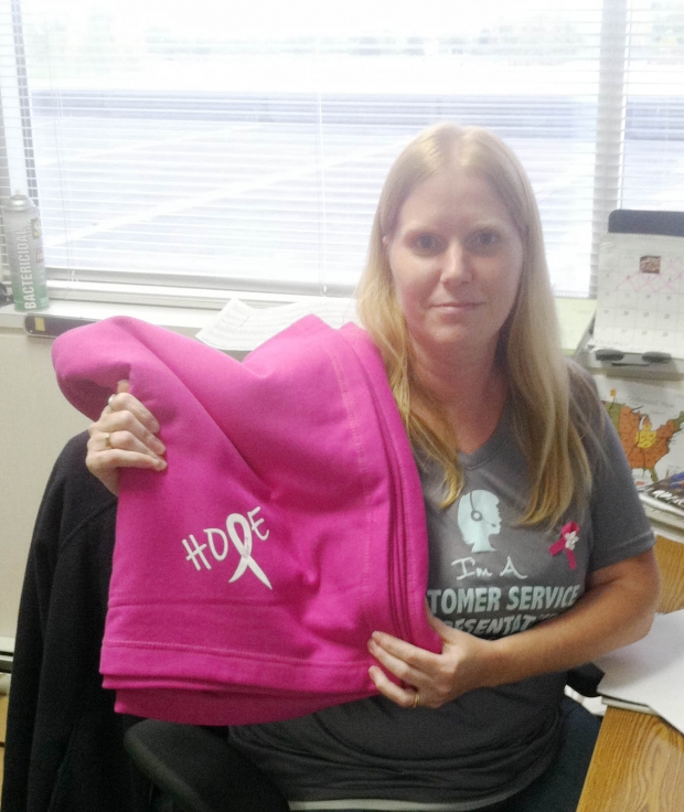 Kelly is a Breast Cancer Survivor!