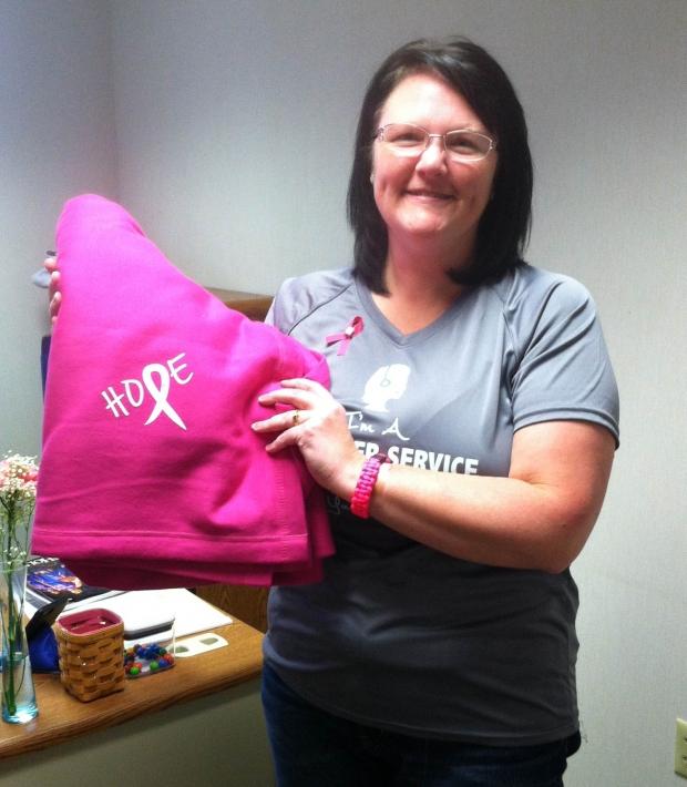 Lori is a Breast Cancer Survivor!