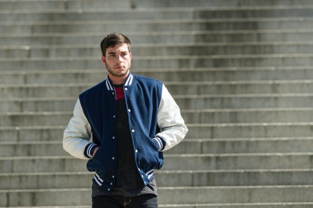 varsity jacket style
